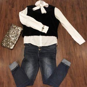 Classiques Entier Velvet Zip up Vest